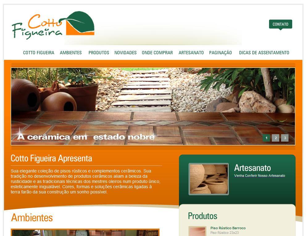 Print do Website Cotto Figueira