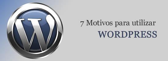 Motivos para utilizar WordPress